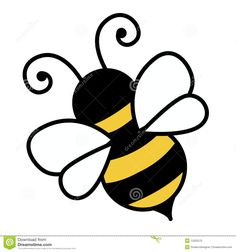 ae79e7969 Free Cute Bee Clip Art | An illustration of a cute bee « Free Stock ...