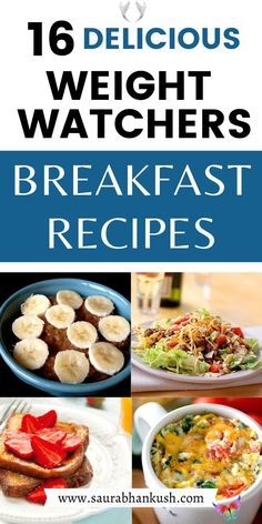 16 Weight Watchers Breakfast Recipes with SmartPoints On the Go – Freestyle Breakfast Ideas 16 Weight Watchers Breakfast Recipes with Points - start the day with weight watchers breakfast on the go. My healthy weight watchers breakfast ideas, casserole weight watchers breakfast, crockpot weight watchers breakfast freestyle & make ahead weight watchers breakfast with smartpoints is the best if you have no time in morning. #weightwatchersbreakfast #weightwatchersrecipes… Weight Watchers Appetizers, Weight Watchers Pancakes, Weight Watchers Casserole, Weight Watchers Meal Plans, Weight Watchers Breakfast, Weight Watcher Dinners, Healthy Breakfast Casserole, Breakfast Crockpot, Breakfast Recipes