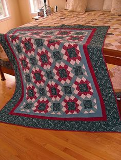 Nikki's First Couch Quilt by Quiltsalad, via Flickr