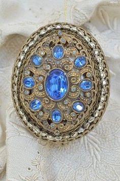Pasimenterié Couture Ornament - BB08-3102-052