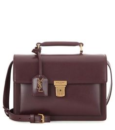 - Leather shoulder bag - Luxury Fashion for Women / Designer clothing, shoes, bags Leather Purses, Leather Handbags, Brown Handbags, Leather Bags, Latest Bags, Beautiful Handbags, Shoulder Handbags, Shoulder Bags, Luxury Bags