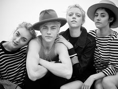 Lucky Blue Smith and his three sisters Daisy, Pyper and Starlie pose for Trendi's coverstory, photographed by Dani Brubaker.