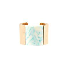 Stella McCartney - Bracelet-jonc avec assortiment de pierres - PE15 - f