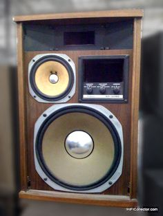 Vintage Sansui speakers. Click on photo for more pics and story.