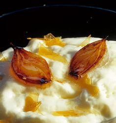 409 |   espuma de bacalao con cebollitas a la miel (El Bulli, 1997, tapa)