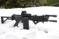 FAL Snow by Ollie Thompson - Yates, via FlickrLoading that magazine is a pain! Get your Magazine speedloader today! http://www.amazon.com/shops/raeind