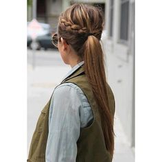 Must-Try Fall Hairstyles From Pinterest Daily Makeover ❤ liked on Polyvore featuring hair