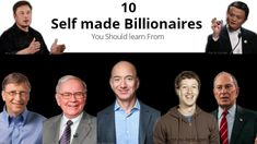 10 Self-made Billionaires You Should Learn From Business Magnate, Richest In The World, Spiderman Art, Elon Musk, Rich Man, Rich People, Bill Gates, School S, Tony Stark