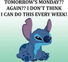 I Hate Mondays. Monday = New School Week