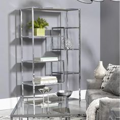 Where can I buy Stocchetti Etagere Bookcase Glass Shelving Unit, Glass Bookcase, Floating Glass Shelves, Cube Bookcase, Tempered Glass Shelves, Etagere Bookcase, Open Shelving, Accent Furniture, Kitchen Furniture