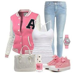 teenager look