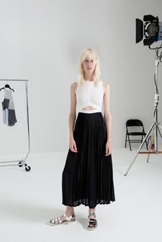 womensweardaily:  A.L.C. Resort 2015 Courtesy Photo Devoid of bells and whistles, Andrea Lieberman's latest A.L.C. collection had something ...