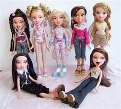 I owned everything for Bratz Dolls