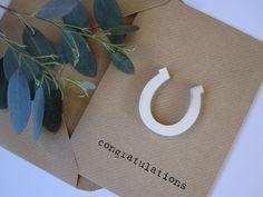 horseshoe card, £2.50