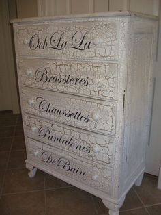 Shabby Chic Dresser by ARosyRox