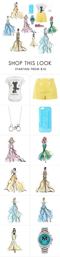 """""""Disney Love! <3"""" by aruvo on Polyvore featuring Neff, Boutique Moschino, Belk Silverworks and Disney"""