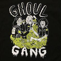 Ghoul Gang Black Tee - Thumbnail 1