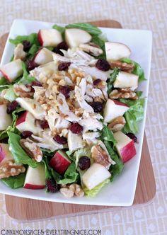 Cold Reception Appetizer DIY: Apple Chicken Salad