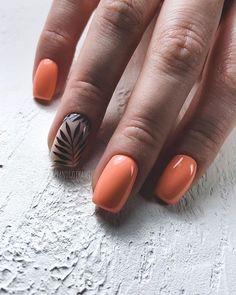 Short Nails Ideas For Summer & Spring - Page 5 of 19 - Vida Joven Peach Colored Nails, Peach Nails, Pink Nails, Aycrlic Nails, Hot Nails, Swag Nails, Classy Nails, Stylish Nails, Short Nail Manicure