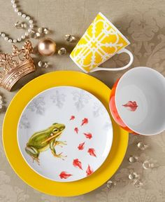 Clinton Kelly Effortless Table Prince Charming 4 Piece Place Setting - Casual Dinnerware - Dining & Entertaining - Macy's