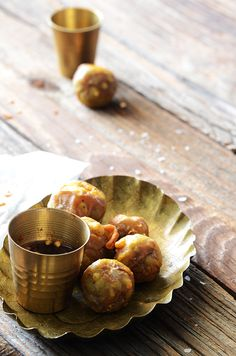 Grain-Free Thai Eggplant Tempura with Spicy Garlic-Soy Dipping Sauce #recipe #appetizer #glutenfree
