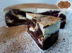 Tiramisu v dortové formě Sweet Recipes, Tiramisu, Cheesecake, Deserts, Baking, Ale, Ethnic Recipes, Fitness, Food