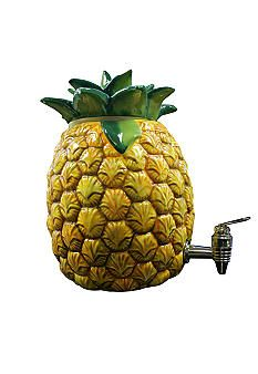 Use this pineapple shaped beverage dispenser every day for your favorite drink or for entertaining. Pineapple Kitchen, Pineapple Drinks, Pineapple Coconut, Pineapple Art, Pineapple Delight, Beverage Dispenser, Tiki Party, Fruit, Beverages