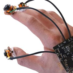 Oculus and university researchers are working on a project that relies on electromagnets to keep an eye on all your fingers in virtual space.