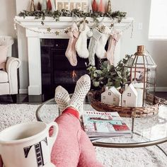 Our entertaining close associated with this season's sexiest ankle joint wristlet tatto styles for girls. Christmas Decorations For The Home, Farmhouse Christmas Decor, Christmas Mantels, Cozy Christmas, Little Christmas, Christmas Holidays, Scandinavian Christmas, Seasonal Decor, Holiday Decor