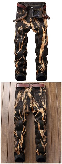 4316e784b7ceb Five-pocket Acid Wash Jeans Casual Jeans, Jeans Style, Men Casual, Jeans