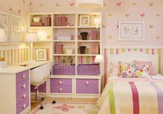 dormitorios juveniles modernos para mujeres | inspiración de diseño de interiores