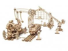 Mechanical wooden puzzle - to the delight of children and parents! Mechanical puzzles made of wood is a real hit of from domestic manufacturers UGears and Wood Trick. Metal Model Kits, Metal Models, 3d Jigsaw Puzzles, Wooden Puzzles, Metal Earth, Shipping Crates, Models For Sale, 3d Laser, Cabriolet
