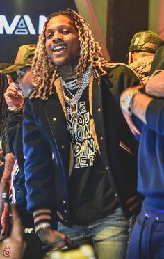 Devon, Hood Wallpapers, Dreadlock Hairstyles For Men, Rapper Outfits, Hair Ponytail Styles, Best Rapper Alive, Gangster Girl, Lil Durk, Cute Rappers