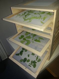 Herb Rack, Herb Drying Racks, Bois Diy, Herbs For Health, Cosmetic Shop, Backyard For Kids, Diy Garage, Growing Herbs, Garden Crafts