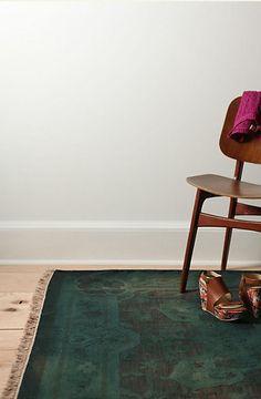 Mid Century Chair   Persian Carpet