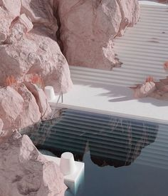 Photo by Alexis Christodoulou on July Aucune description de photo disponible. Space Architecture, Futuristic Architecture, Beautiful Architecture, Organic Architecture, Amazing Destinations, Interior And Exterior, Swimming Pools, Instagram Posts, Friends Instagram