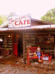 Billy Gail's Cafe in Branson MO - Heard awesome things about this place! Branson Missouri Restaurants, Branson Vacation, Silver Dollar City, Warren County, Cozy Cafe, Eureka Springs, Christmas Vacation, Road Trippin, Awesome Things
