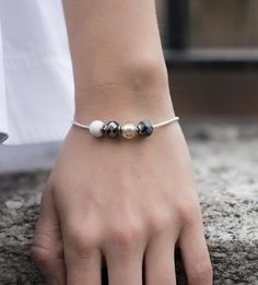 #PANDORAloves this simple styling. #PANDORAbracelet #PANDORAessencecollection