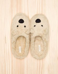 Oysho Bear slippers - Home - Footwear - Turkey Bear Slippers, Cute Slippers, Slipper Socks, Girls Shoes, Baby Shoes, Blue Sargent, Sensible Shoes, Bedroom Slippers, Suit Shoes