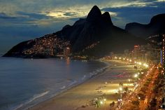 What else can be said? Once you've been there, you'll always want to go back to: Ipanema in Rio de Janeiro, Brazil.