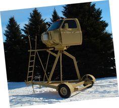 welding ideas | Very cool Deer Stand. | Welding Project Ideas