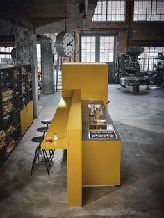 KBBArk - NX500 Saffron Yellow - next125 Kitchens
