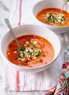 Roasted red pepper tortilla soup recipe
