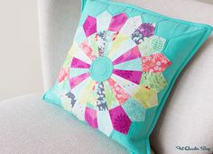 Sundance Dresden Pillow Pattern by Fat Quarter Shop