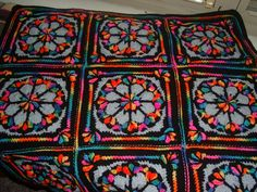 Tree of Life Afghan Square