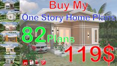 Buy My One Story Home Plans 82 Plans You will get the PDF file that has the link in it.My work One Story Home Plans 82 Plans going to plans-Layout Simple House Plans, Garage House Plans, House Plans One Story, One Story Homes, Small House Floor Plans, Story House, One Bedroom House Plans, 4 Bedroom House Designs, House Design 3d