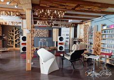 PureAudioProject Trio15 Horn1 Open Baffle Speakers