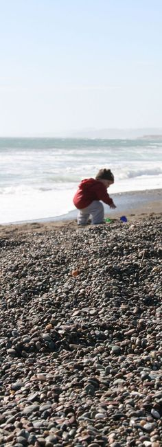 A little boy collecting treasures on Cambria's Moonstone Beach; Cambria, CA. I can't wait to bring my own boys one day! Weekend Trips, Weekend Getaways, Moonstone Beach, Family Fun Day, Beauty First, Country Lifestyle, Paradise On Earth, California Beach, Small Island
