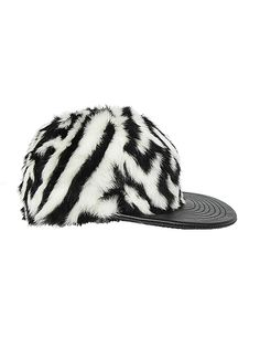 AW14 KTZ FAUX FUR SNAPBACK CAP - take 15% off your order of any fall f3a06e9522ab