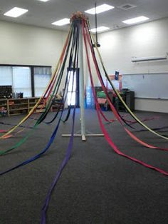 Kodaly Corner: Throwback Thursday: Maypole in the Music Room.  You know, in case I inherit a maypole.  :)
